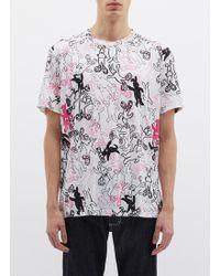 Marni - 'dance Bunny' Print T-shirt - Lyst