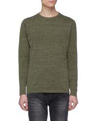 Denham - 'cadet' Cotton Sweater - Lyst