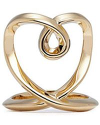 Chloé - 'heart' Twist Band Ring - Lyst