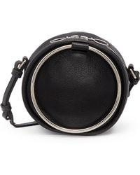 Kara - 'cd' Oversized Ring Leather Crossbody Bag - Lyst