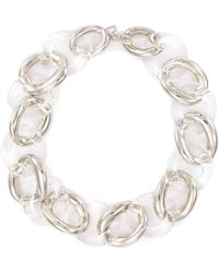 Kenneth Jay Lane - Chunky Link Chain Necklace - Lyst