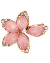 Stephen Webster - Crystal Haze Diamond 18k Rose Gold Small Ring - Lyst