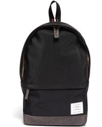 Thom Browne Label Appliqué Nylon Backpack