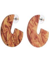 Kenneth Jay Lane Cutout Geometric Drop Earrings