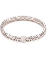 Roberto Coin | 'primavera' Diamond 18k White Gold Bracelet | Lyst