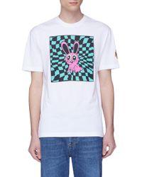 McQ - 'acid Bunny' Print T-shirt - Lyst