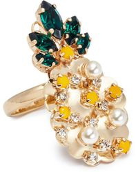 Anton Heunis - Swarovski Crystal Pineapple Ring - Lyst
