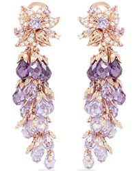 Anabela Chan - 'coralbell' Detachable Drop 18k Rose Gold Earrings - Lyst