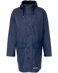 Stutterheim - 'ekeby Lw' Hooded Raglan Unisex Raincoat - Lyst