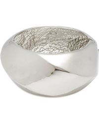 Kenneth Jay Lane - Geometric Hinged Bangle - Lyst
