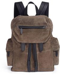 Alexander Wang - 'marti' Suede Backpack - Lyst