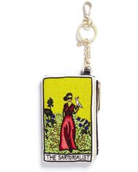Alice + Olivia - 'the Sartorialist' Beaded Coin Purse Key Charm - Lyst