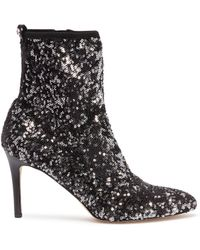 Sam Edelman - 'olson' Sequin Ankle Sock Boots - Lyst
