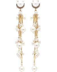 Erickson Beamon - 'pretty Woman' Faux Pearl Drop Earrings - Lyst