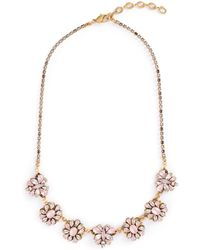 Erickson Beamon - 'lady Of The Lake' Swarovski Crystal Charm Necklace - Lyst