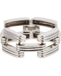 Philippe Audibert - 'frazier' Cutout Link Bracelet - Lyst
