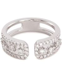 LC COLLECTION - Diamond 18k White Gold Ring - Lyst