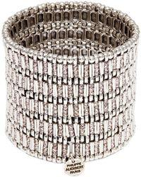 Philippe Audibert - 'mini Ava' Swarovski Crystal Five Row Elastic Bracelet - Lyst