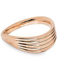 Fernando Jorge - 'stream Lines' 18k Rose Gold Ring - Lyst