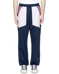 Facetasm - Colourblock Twill Track Pants - Lyst