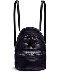 Stella McCartney Falabella GO Star Mini Backpack UxTI22pIlZ