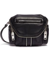 Alexander Wang - 'marti' Micro Leather Crossbody Bag - Lyst