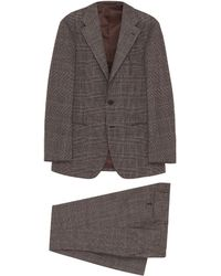 Ring Jacket - '269e' Check Plaid Wool Suit - Lyst