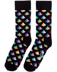 Happy Socks - Pyramid Socks - Lyst