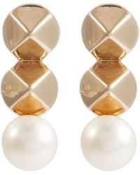 OLIVIA YAO - 'haumea' Stud Pearl Earrings - Lyst