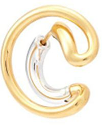 Charlotte Chesnais - 'ego' Small Curved Single Earring - Lyst