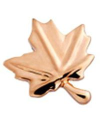 Loquet London - 18k Rose Gold Maple Leaf Charm - Love - Lyst