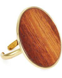 Philippe Audibert - 'naia' Circle Wood Ring - Lyst
