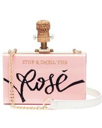 Cecilia Ma - 'stop And Smell The Rosé' Clutch - Lyst