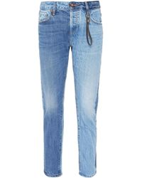 Tortoise - 'savanna' Colourblock Jeans - Lyst