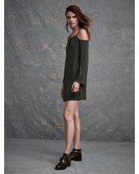 Lanston | Cold Shoulder Mini Dress | Lyst