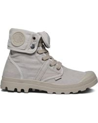 Palladium - Us Baggy Wh Canvas Ankle Boots - Lyst