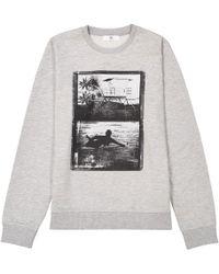 La Redoute - Printed Crew Neck Sweatshirt, 10-16 Years - Lyst