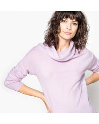 La Redoute - Pure Cashmere Roll Neck Jumper/sweater - Lyst