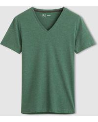 La Redoute - Cotton Crew Neck T-shirt - Lyst
