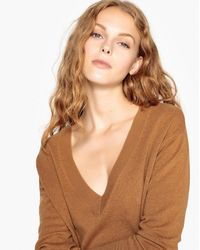La Redoute - Cashmere V-neck Jumper/sweater - Lyst