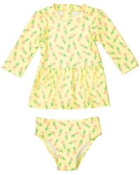 La Redoute - Printed Swimsuit With Uv Protection, 3 Months-3 Years - Lyst