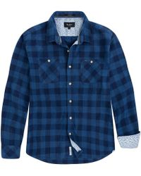 Pepe Jeans - Albany 100% Cotton Straight Checked Shirt - Lyst
