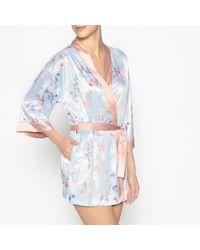 La Redoute - Satin Kimono - Lyst