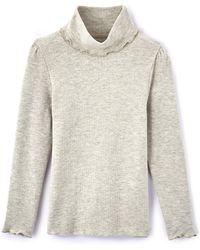 LA REDOUTE   Ruffled Polo Neck Jumper/sweater, 3-12 Years   Lyst