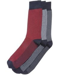La Redoute - Pack Of 3 Pairs Of Patterned Socks - Lyst