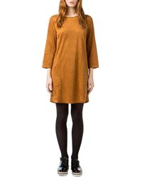Best Mountain - Long-sleeved Mini Dress - Lyst
