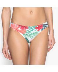 La Redoute - Floral Bikini Bottoms - Lyst