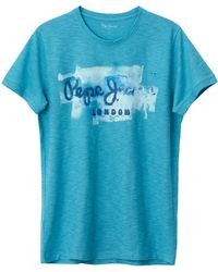 Pepe Jeans - Short-sleeved Crew Neck T-shirt - Lyst