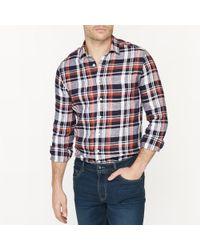 La Redoute - Linen Straight Cut Shirt - Lyst