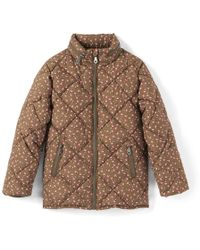 La Redoute - Printed Hooded Padded Jacket, 3-12 Years - Lyst